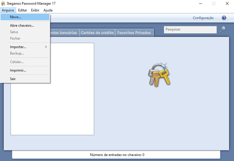 Steganos Password Manager para acceso seguro al Outlook