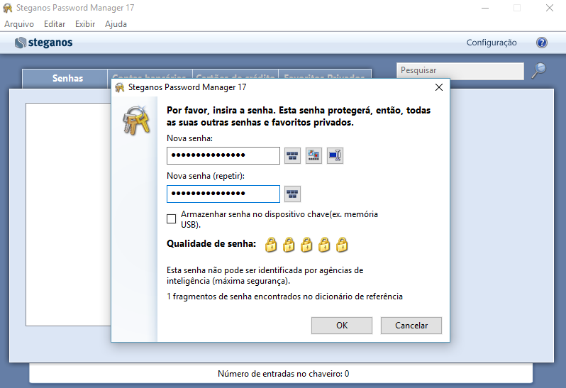 Contraseñas seguras con Steganos Password Manager