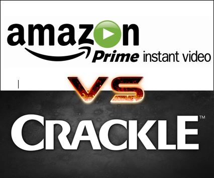 Amazon Prime vs. Crackle