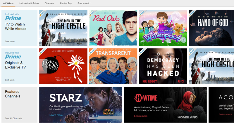 Cómo acceder a Amazon Instant Video