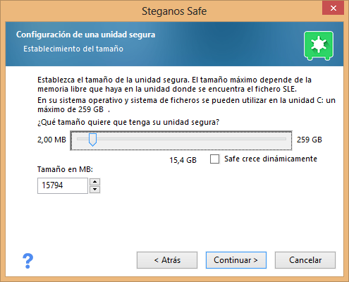 Crear unidad segura en Windows