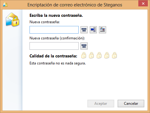 Proteger email con Steganos Privacy Suite