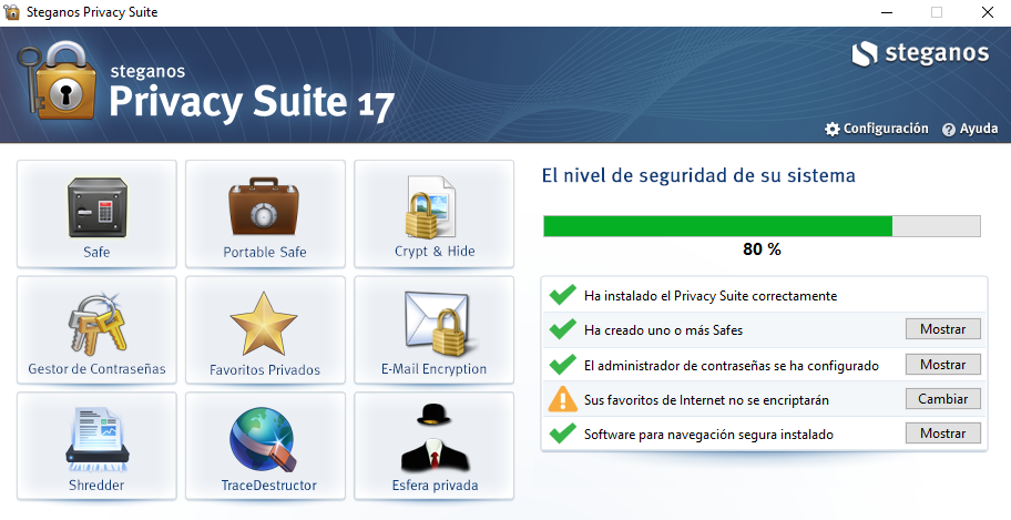Steganos Privacy Suite