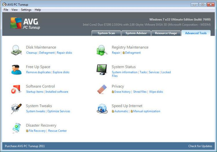 Descubra una buena alternativa a AVG PC TuneUP