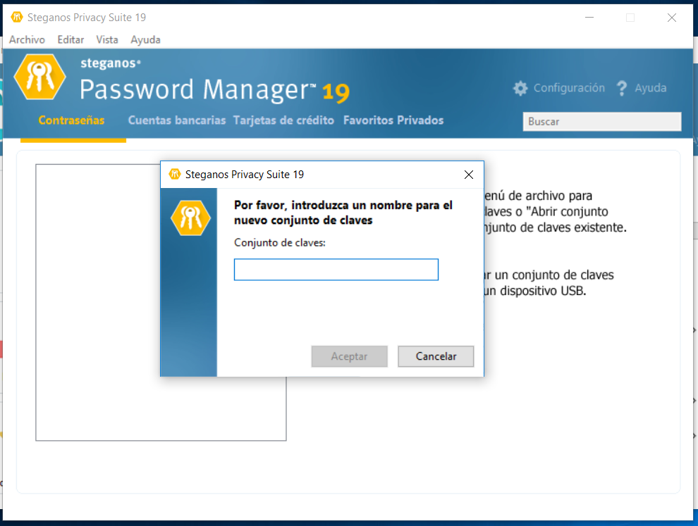 PW manager 19